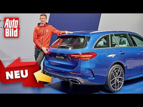 Mercedes C-Klasse T-Modell (2021) |Erster Check im Mittelklasse-Kombi |Sitzprobe mit Peter Fischer
