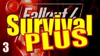 Fallout 4 Survival Mode Walkthrough Part 3 - The Polymer Labs Riptide Run (Hazmat Suit)