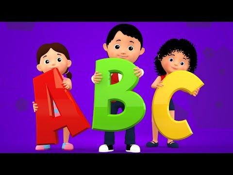 ABC Song | 3d Nursery Rhymes | Kids Songs | Childrens Videos