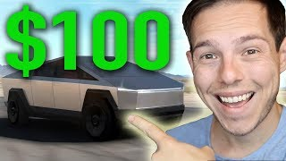 I bought a Tesla Cybertruck for $100