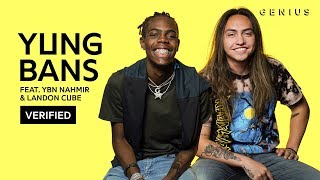 "Yung Bans & Landon Cube ""Ridin"" Official Lyrics & Meaning 