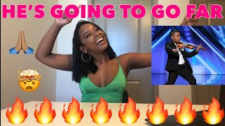 Golden Buzzer: Tyler Butler-Figueroa Earns Simon Cowell's  - America's Got Talent 2019 REACTION