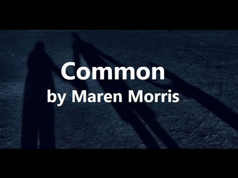 Maren Morris Ft Brandi Carlile - Common (Lyrics) - PMT Lyrics