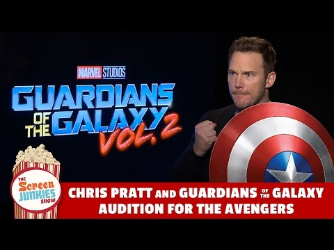 Chris Pratt & Guardians of the Galaxy Audition for Avengers!