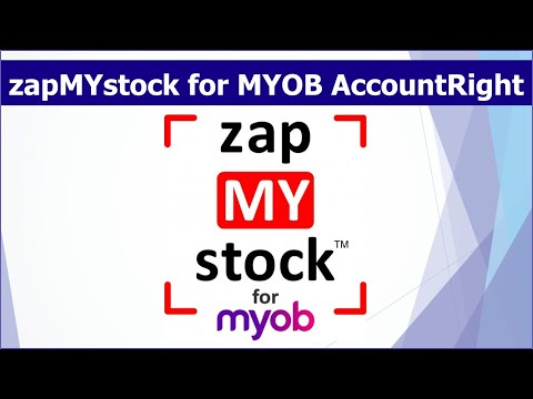 zapMYstock for MYOB AccountRight