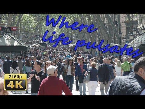 La Rambla, Barrio Gotico, Barcelona, Cat