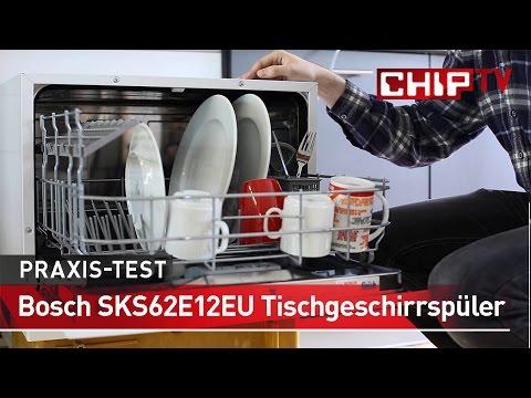 Bosch SKS62E12EU Tischgeschirrspüler - Review deutsch | CHIP