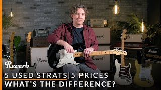 5 Used Strats, 5 Prices: Whats The Difference? | Reverb Tone Report