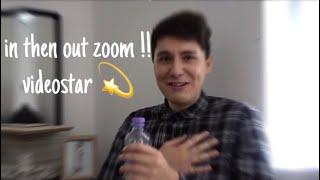 how to zoom in and out on video star - मुफ्त