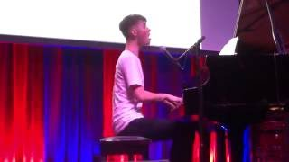 Back On The Wall by Greyson Chance Live at San Francisco