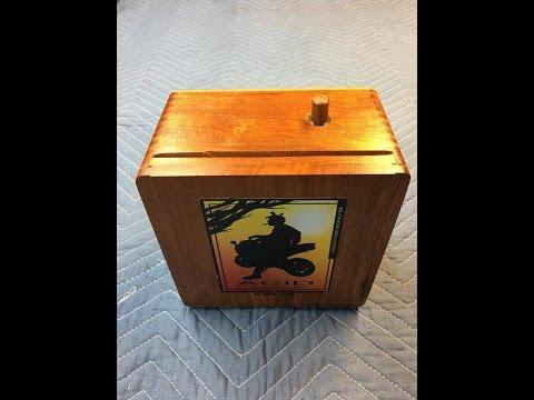 9v Guitar Amp from a cigar box