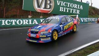V8 Supercars Flashback - Marcos Ambrose Bathurst Shootout Lap (2005)