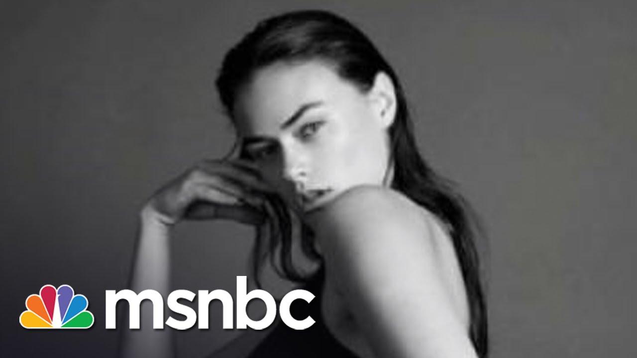 Calvin Klein Ad: Is This A Plus Size Model?   msnbc thumbnail