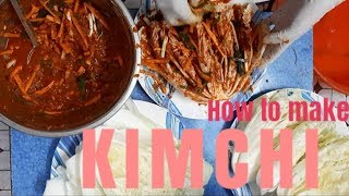 How to make Kimchi    Korean Kimchi    Kimchi siam dan.
