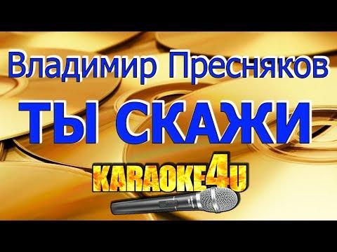 Владимир Пресняков | Ты скажи | Караоке (Кавер минус)