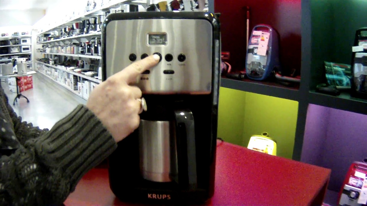 Cafetière Krups ET352010 thermo-isolante 1.7L 1150W - Defitec