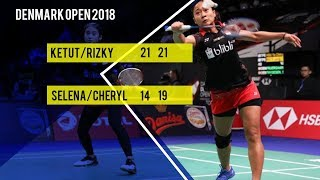 Ni Ketut dan Rizki Susul Greysia Polii dan Apriyani Rahayu Lolos Babak Kedua Denmark Open 2018