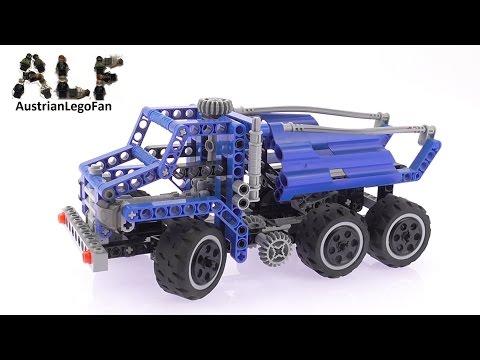 Vidéo LEGO Technic 8415 : Le camion-benne