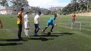 Circuito Tecnico Futbol : Entrenamiento de f�tbol circuito físico técnico