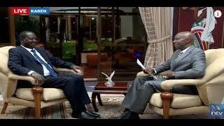 NTV Kenya Livestream || Raila Speaks
