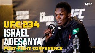 UFC 234: Israel Adesanya Post-Fight Press Conference – MMA Fighting