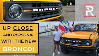 2021 Ford Bronco 2-Door [Up Close & Personal] – Redline: First Look