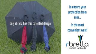 rbrella patented reverse umbrella available!