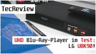 [REVIEW] LG UBK90 - Ultra HD Blu-Ray-Player im Test!   Das Format-Opfer?   TecReview   DE   4K