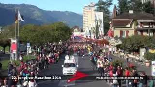 Jungfrau-Marathon 2014 In HD