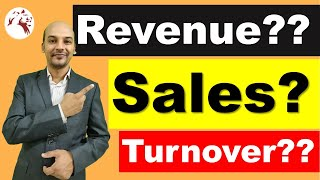Difference Between Revenue, Sales & Turnover? This Video For You! 👌👌👌