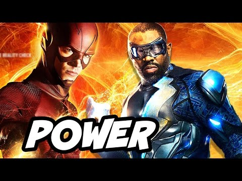 The Flash Season 3 Powers Scene vs Black Lightning Powers and DC Comics Explained