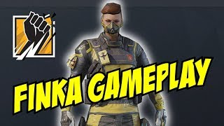 Unseen Finka Gameplay Loadout, gadgets, uniform headgear Rainbow Six Siege R6 Operation Chimera Lion