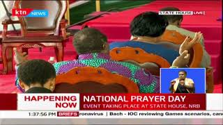 Muslim Cleric prays for medical practitioners and their families during National prayer day