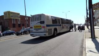 preview picture of video 'MTA New York City Bus: RTS NovaBus #5011 Q24 @ Atlantic Avenue & Van Wyck Expressway!'