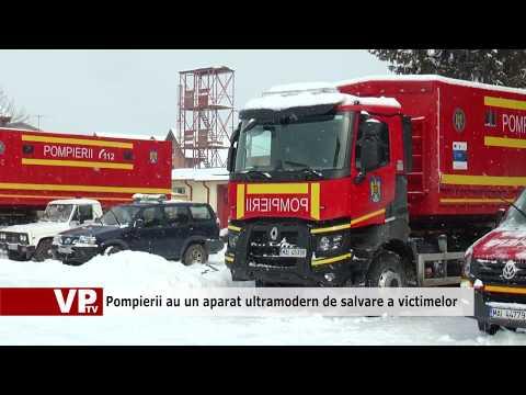 Pompierii au un aparat ultramodern de salvare a victimelor