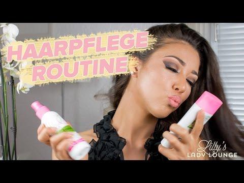 HAARPFLEGE-ROUTINE für langes, volles, glänzendes und gesundes Haar