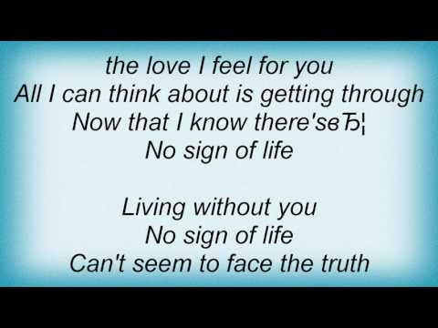 Emma Bunton - No Sign Of Life Lyrics