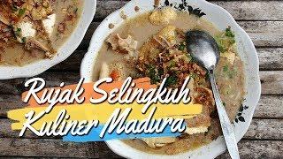 Mencicipi Lezatnya Rujak Selingkuh, Kuliner Unik Khas Madura yang Buat Ketagihan