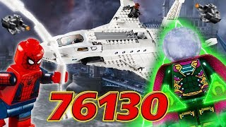 Обзор LEGO Spider-Man 76130 - Stark Jet and the Drone Attack