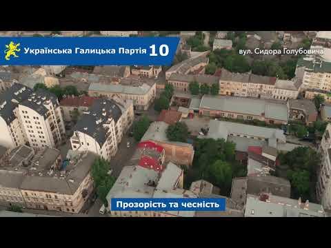 Над Левом: вул. Сидора Голубовича, Перова
