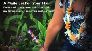 A Maile Lei For Your Hair - My Ukulele Interpretation