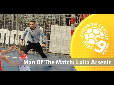 Man of the match: Luka Arsenic (Vojvodina vs Metaloplastika)