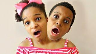 Bad Baby Shiloh HAS TWO HEADS!! - Shasha and Shiloh - Onyx Kids