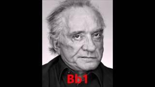 Johnny Cash's Vocal Range | A1 - Bb5