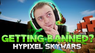 TRYING TO GET MY GIRLFRIEND BANNED ON HYPIXEL SKYWARS! [LIVE]