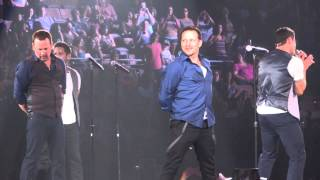 98 Degrees - Microphone (The Package Tour Las Vegas)