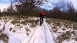 #sacfoxsingletrack #ridegroomed winter 2015 @LinnAreaMTB *use your own audio :-)