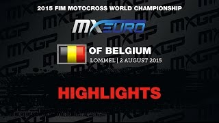 Motocross - Belgium2015 EMX 150 Race 1 Highlights