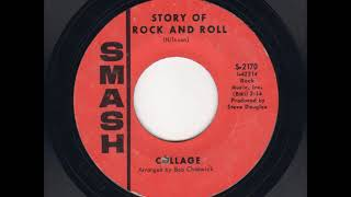 """""""The Story of Rock and Roll"""" by Collage"""