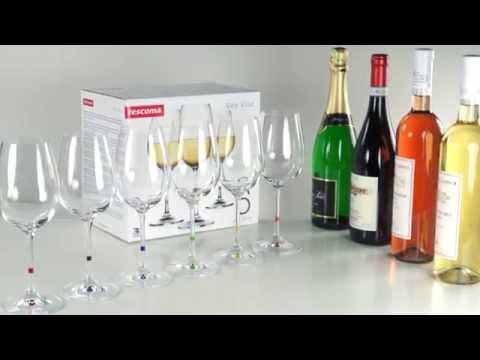 Video Tescoma UNO VINO Sklenice na víno 350 ml, 6 ks 1